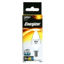 Energizer LED Candle 250lm E14 Clear Warm White SES - 3.4w